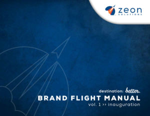 Zeon Solutions Flight Manual cover