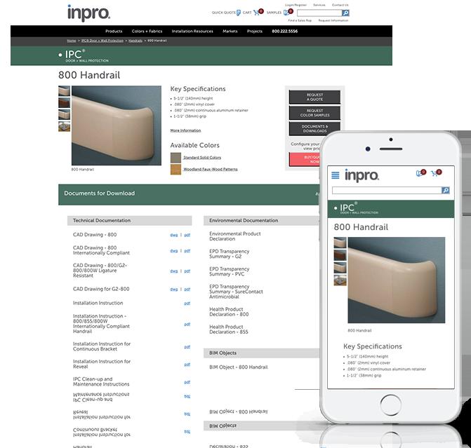 Inpro Responsive Website