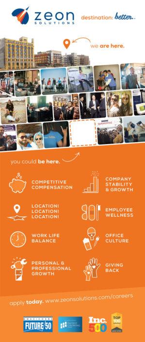 Zeon Solutions Recruitment Banner