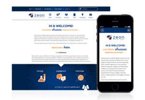 Zeon Solutions Responsive Website