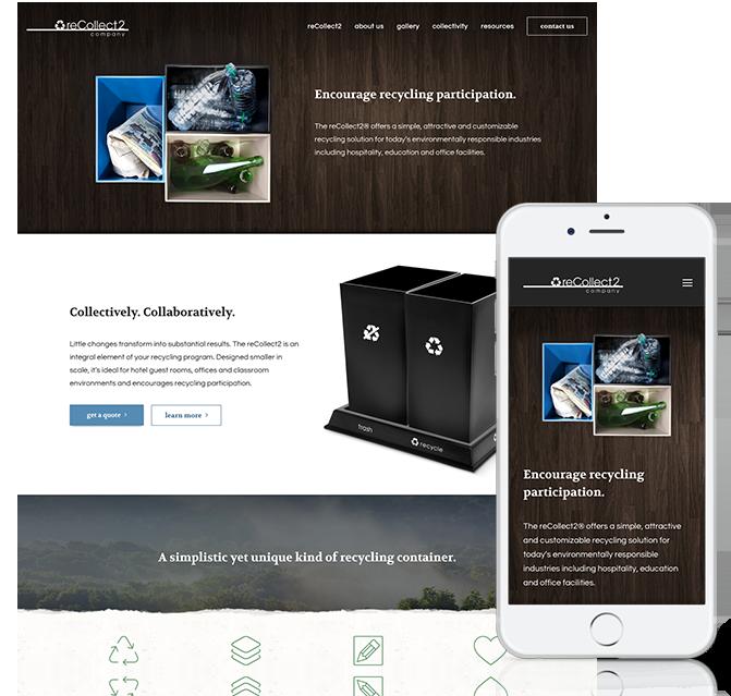 recollect2 Responsive Website