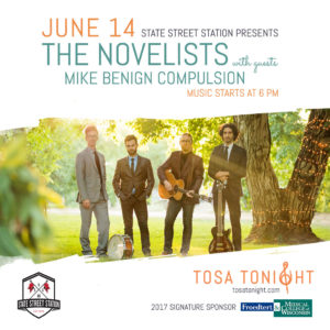 Tosa Tonight The Novelists Social Banner